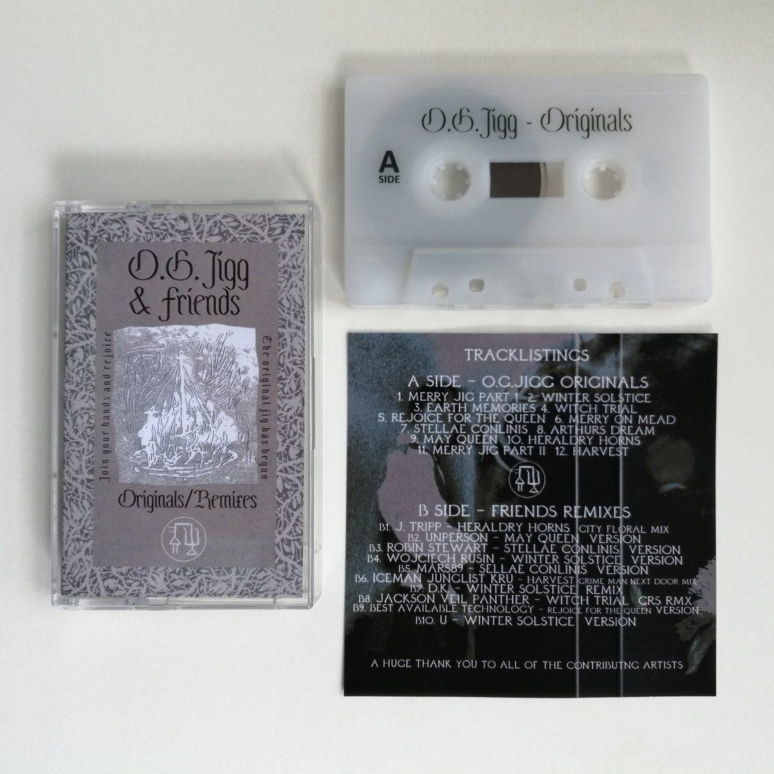 O.G. JIGG & FRIENDS – Originals / Remixes